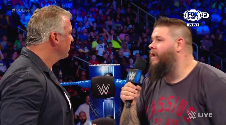 WWE SMACKDOWN LIVE (17 de septiembre 2019)   Resultados en vivo   King Corbin 9