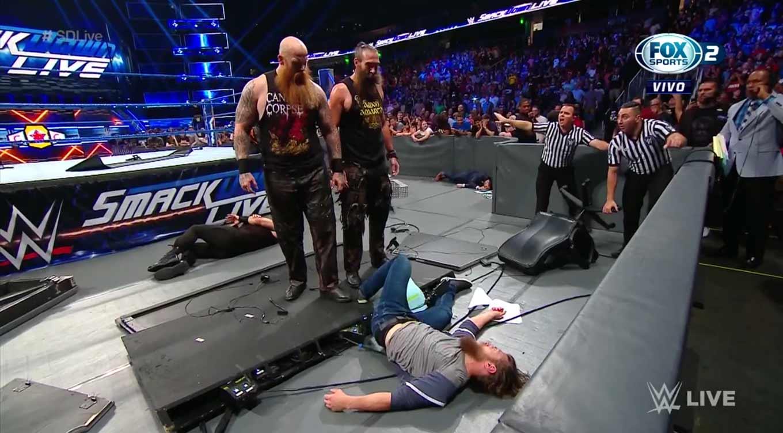 WWE SMACKDOWN LIVE (17 de septiembre 2019)   Resultados en vivo   King Corbin 31