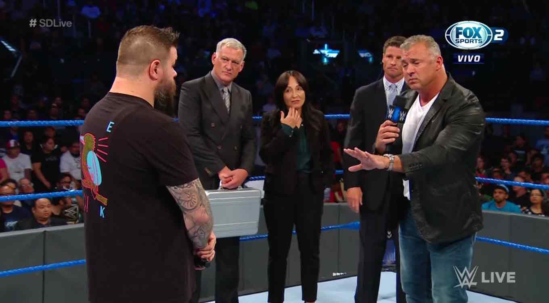 Kevin Owens y Shane McMahon