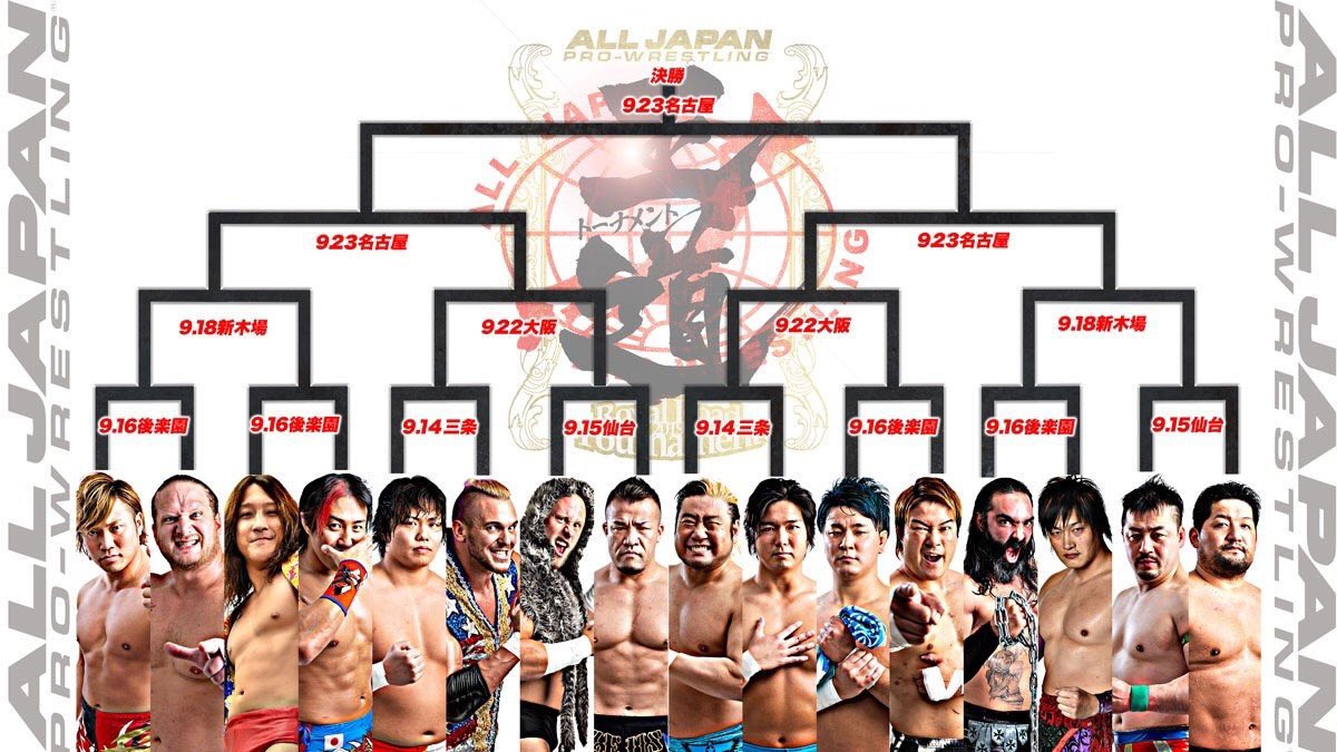 "AJPW: Inició el ""7th Royal Road Tournament"" Round 1 3"