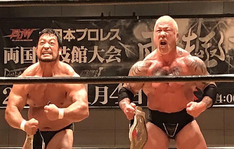 BJW: Sekimoto y The Bodyguard exponen Campeonato de Parejas BJW 1