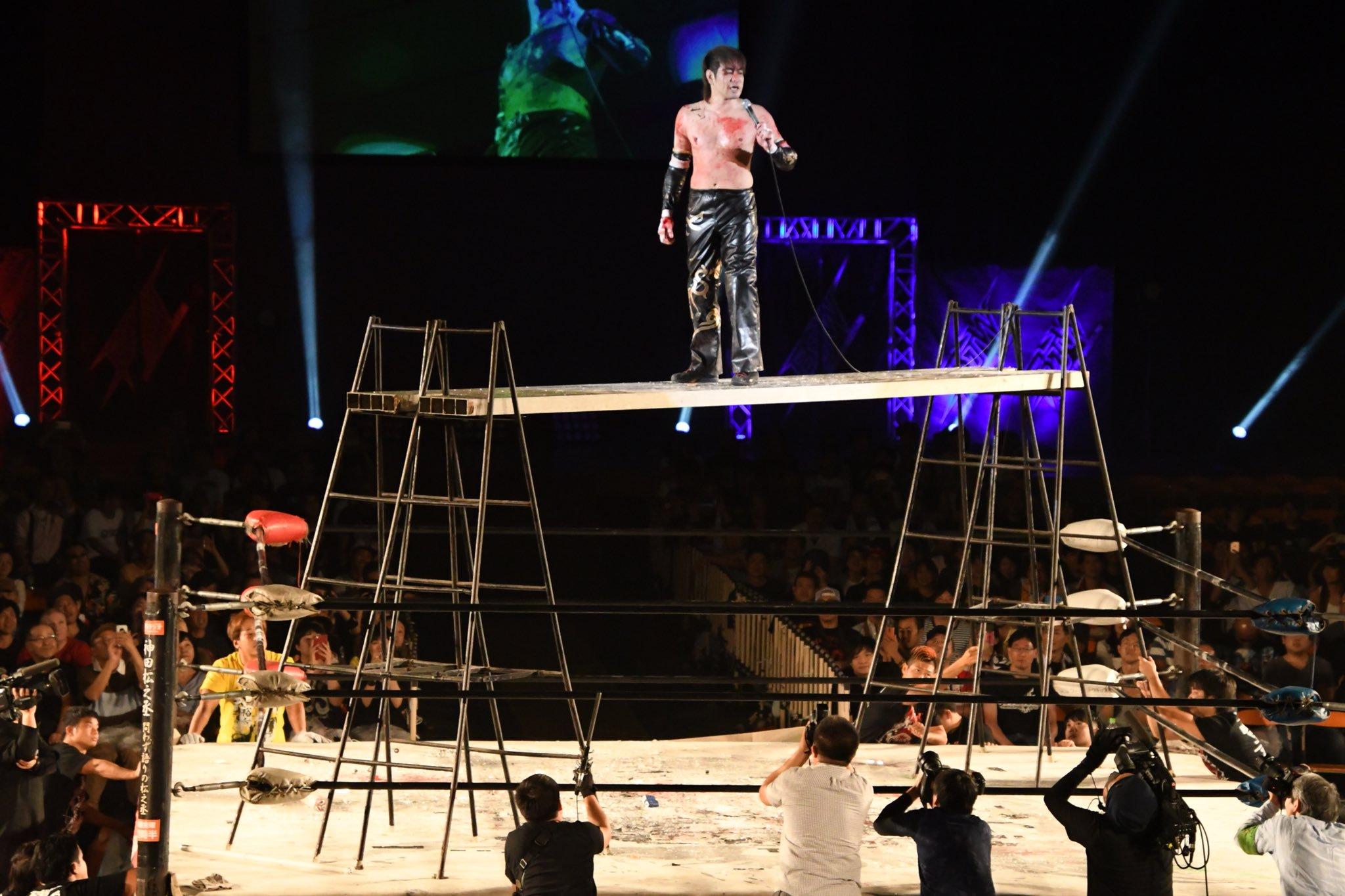 """BJW: """"Big Japan Death Vegas 2019"""" 3 títulos individuales en juego 8"""