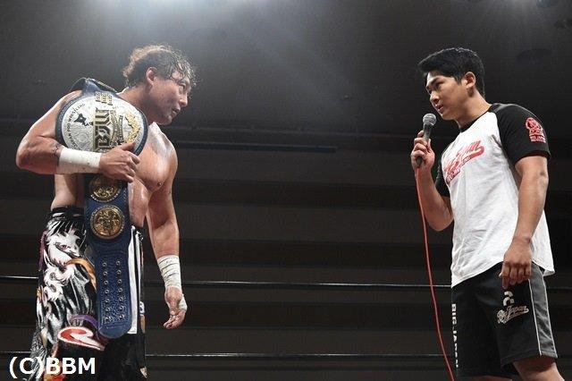 "BJW: ""Big Japan Yokohama Radiant Hall"" TAJIRI doblegó a Great Kojika 2"