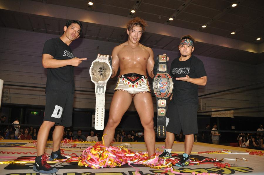 "DDT: ""Osaka Octopus 2019"" Cuatro títulos en disputa 1"