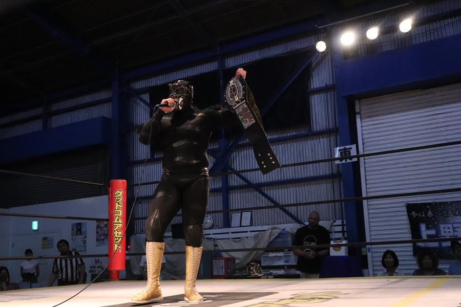 DDT: Puma King pierde y recupera el Iron Man Heavy Metal 9