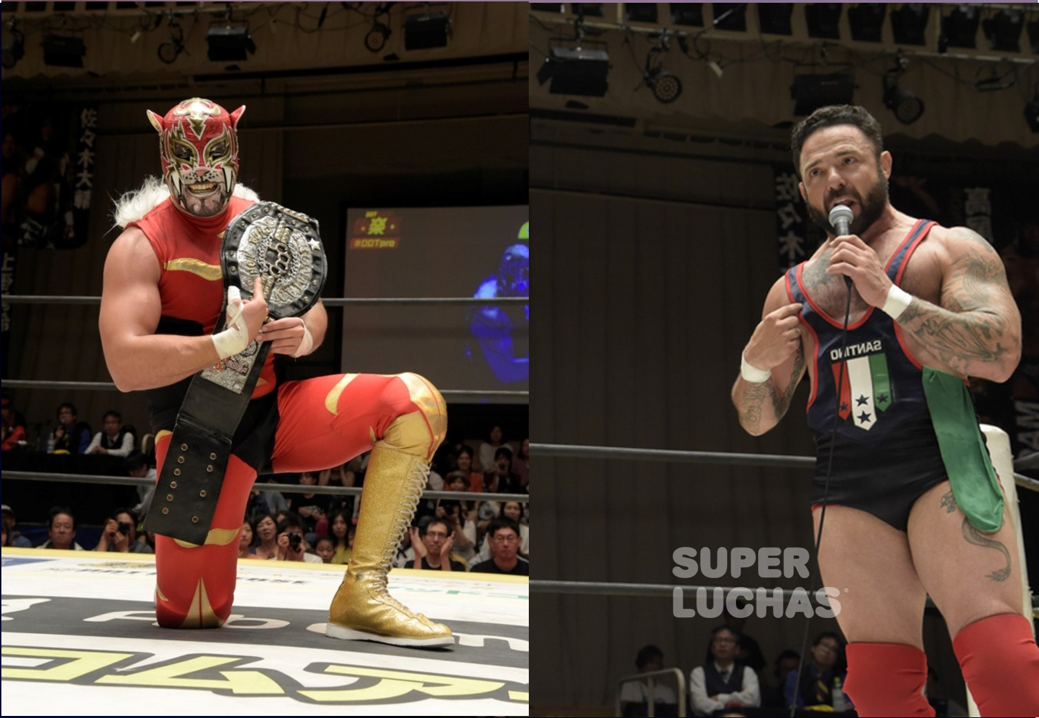 "DDT: ""Summer Vacation Memories"" Puma King y Santino Marella se presentan 2"