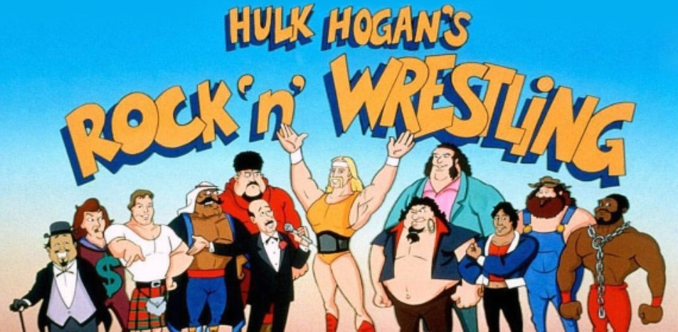 La maldición de ser un dibujo animado junto a Hulk Hogan 1