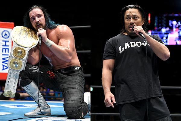 """NJPW: """"Destruction in Kobe 2019"""" White somete a Naito 1"""