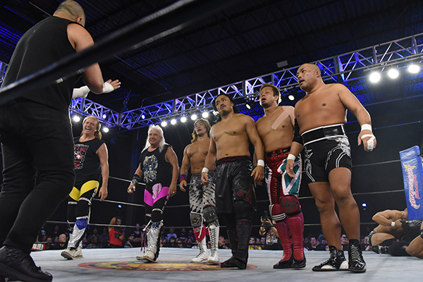 "NJPW: Resultados ""Fighting Spirit Unleashed"" visita a la Costa Este 3"