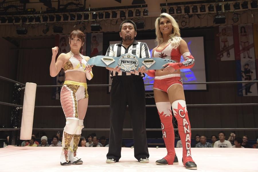 "JTP: ""Brandnew Wrestling 3"" Natsumi Maki gana título internacional 1"