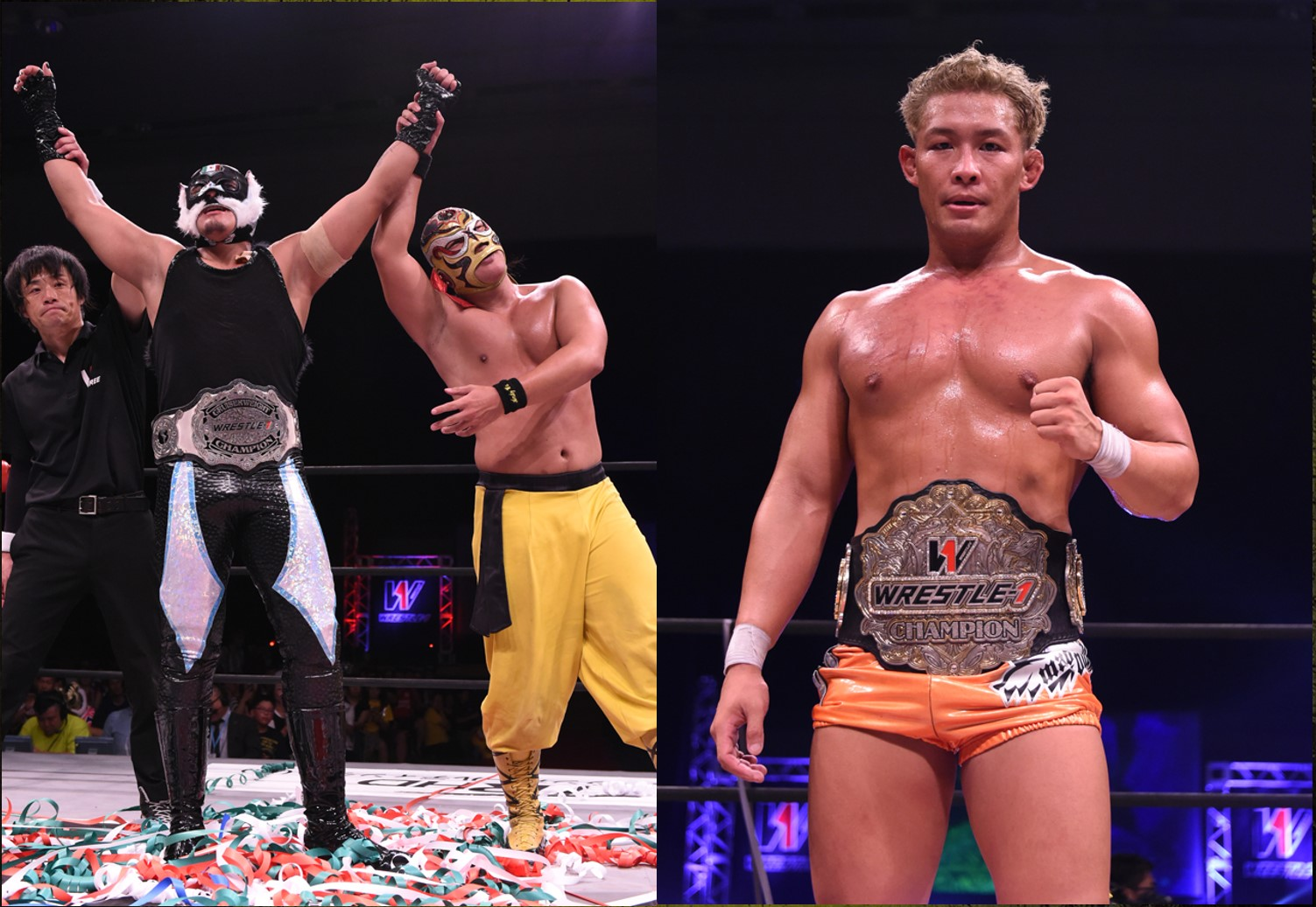 "W-1: ""PW Love in Yokohama"" Hijo del Pantera es monarca 2"
