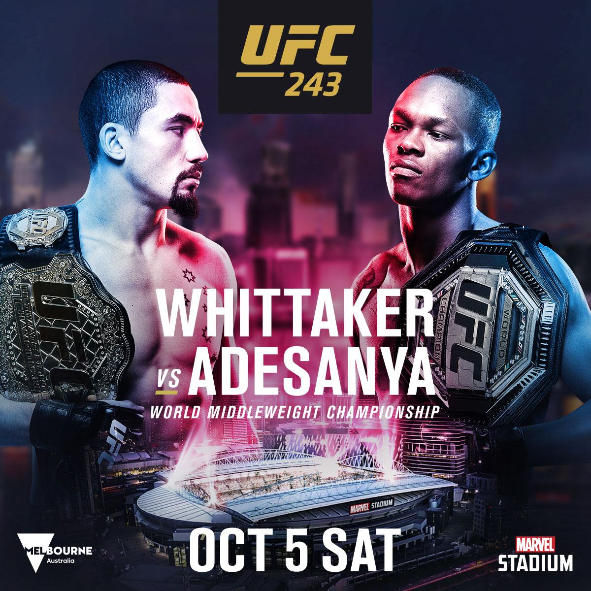 Reacciones a la victoria de Israel Adesanya en UFC 243