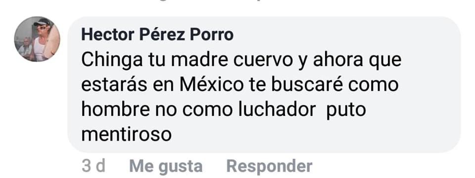 El Cuervo de Puerto Rico denuncia que ha recibido amenazas de Ángel o Demonio 2