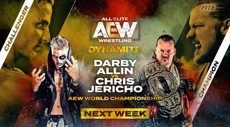 Darby Allin es el retador de Chris Jericho por el título AEW 43