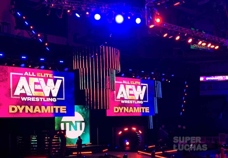 AEW Dynamite set