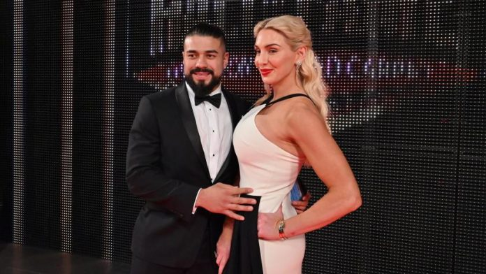 Charlotte Flair y Andrade