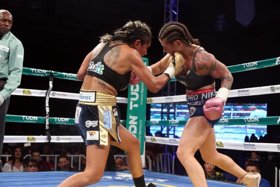 Barby Juárez retuvo su campeonato en Zacatecas 2
