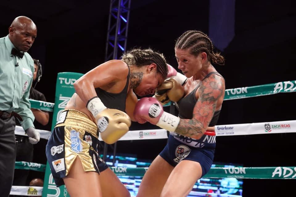 Barby Juárez retuvo su campeonato en Zacatecas 3