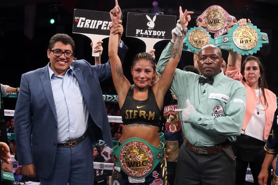 Barby Juárez retuvo su campeonato en Zacatecas 1