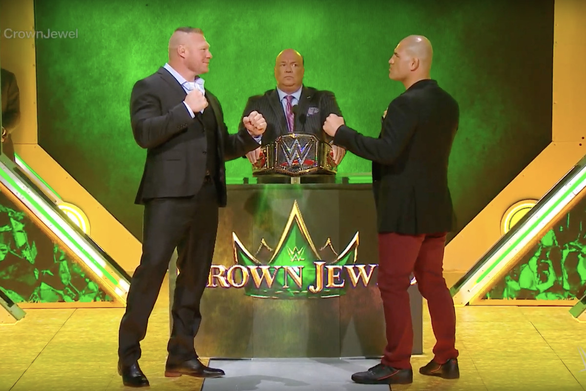 Seth Rollins vs The Fiend Brock Lesnar vs Caín Velásquez