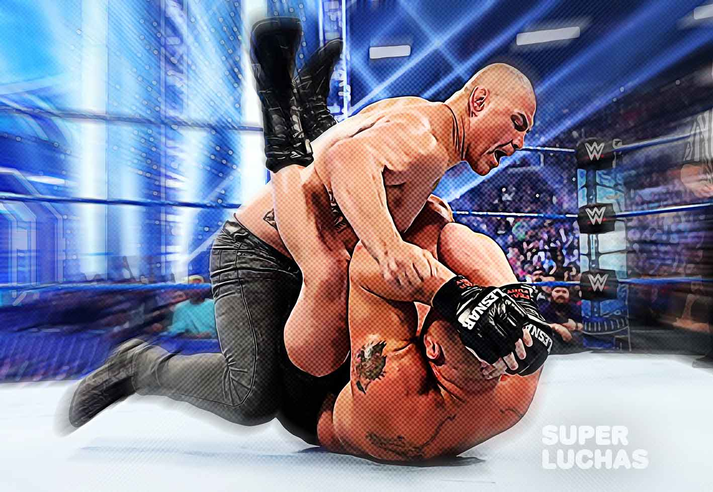 Cain Velasquez vs. Brock Lesnar