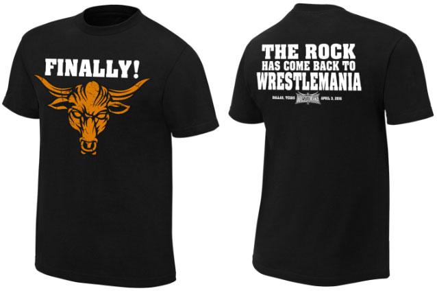 Camiseta de The Rock