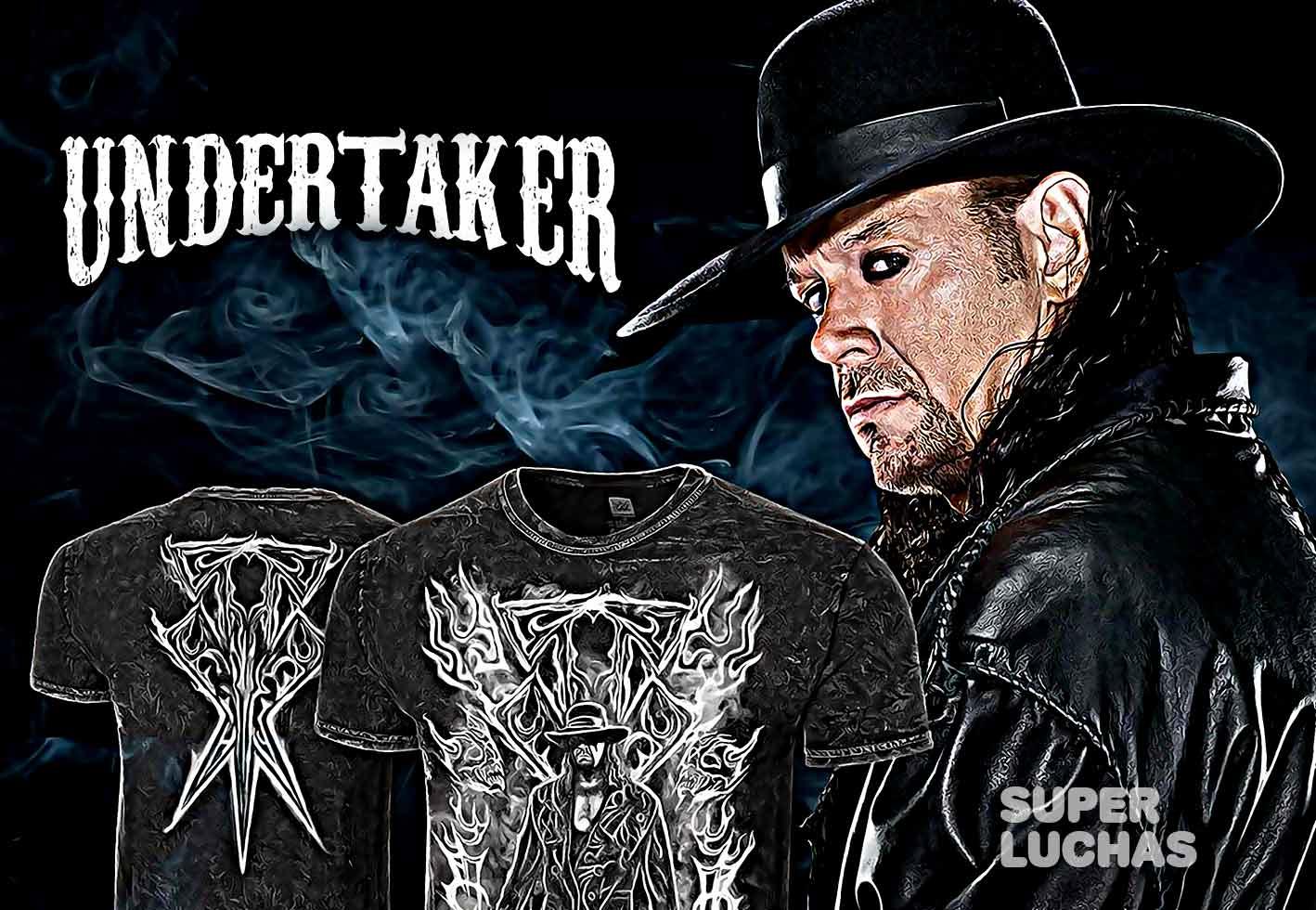 Camiseta del Undertaker