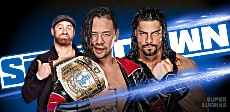 Resultados WWE Friday Night SmackDown 18 de octubre 2019