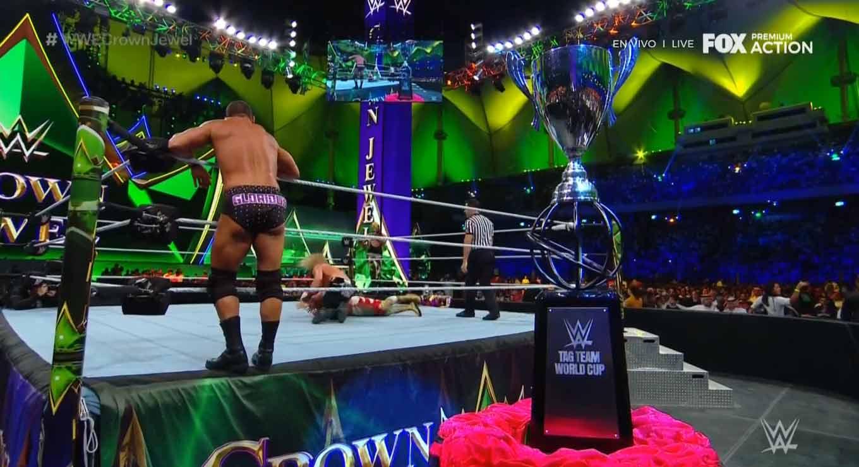 WWE CROWN JEWEL (31 de octubre 2019)   Brock Lesnar vs. Caín Velásquez 10