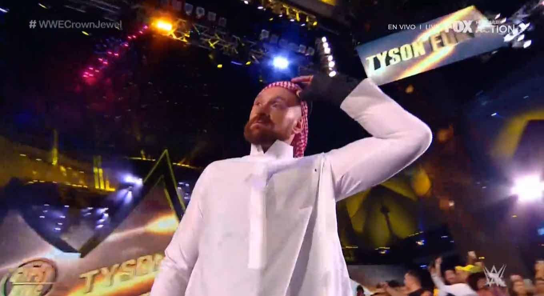 WWE CROWN JEWEL (31 de octubre 2019)   Brock Lesnar vs. Caín Velásquez 36