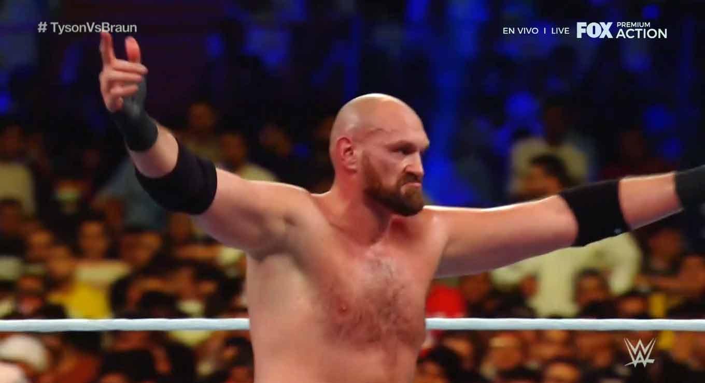 WWE CROWN JEWEL (31 de octubre 2019)   Brock Lesnar vs. Caín Velásquez 46
