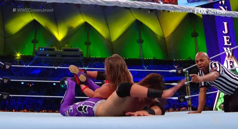 WWE CROWN JEWEL (31 de octubre 2019)   Brock Lesnar vs. Caín Velásquez 54
