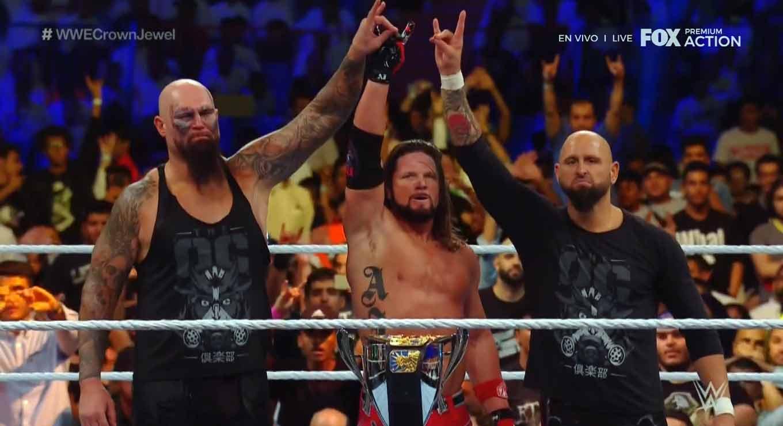 WWE CROWN JEWEL (31 de octubre 2019)   Brock Lesnar vs. Caín Velásquez 57