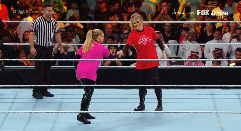 WWE CROWN JEWEL (31 de octubre 2019)   Brock Lesnar vs. Caín Velásquez 58