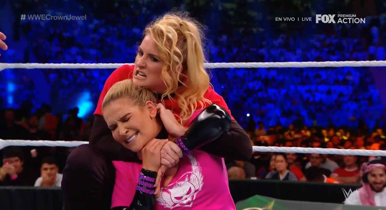 WWE CROWN JEWEL (31 de octubre 2019)   Brock Lesnar vs. Caín Velásquez 61
