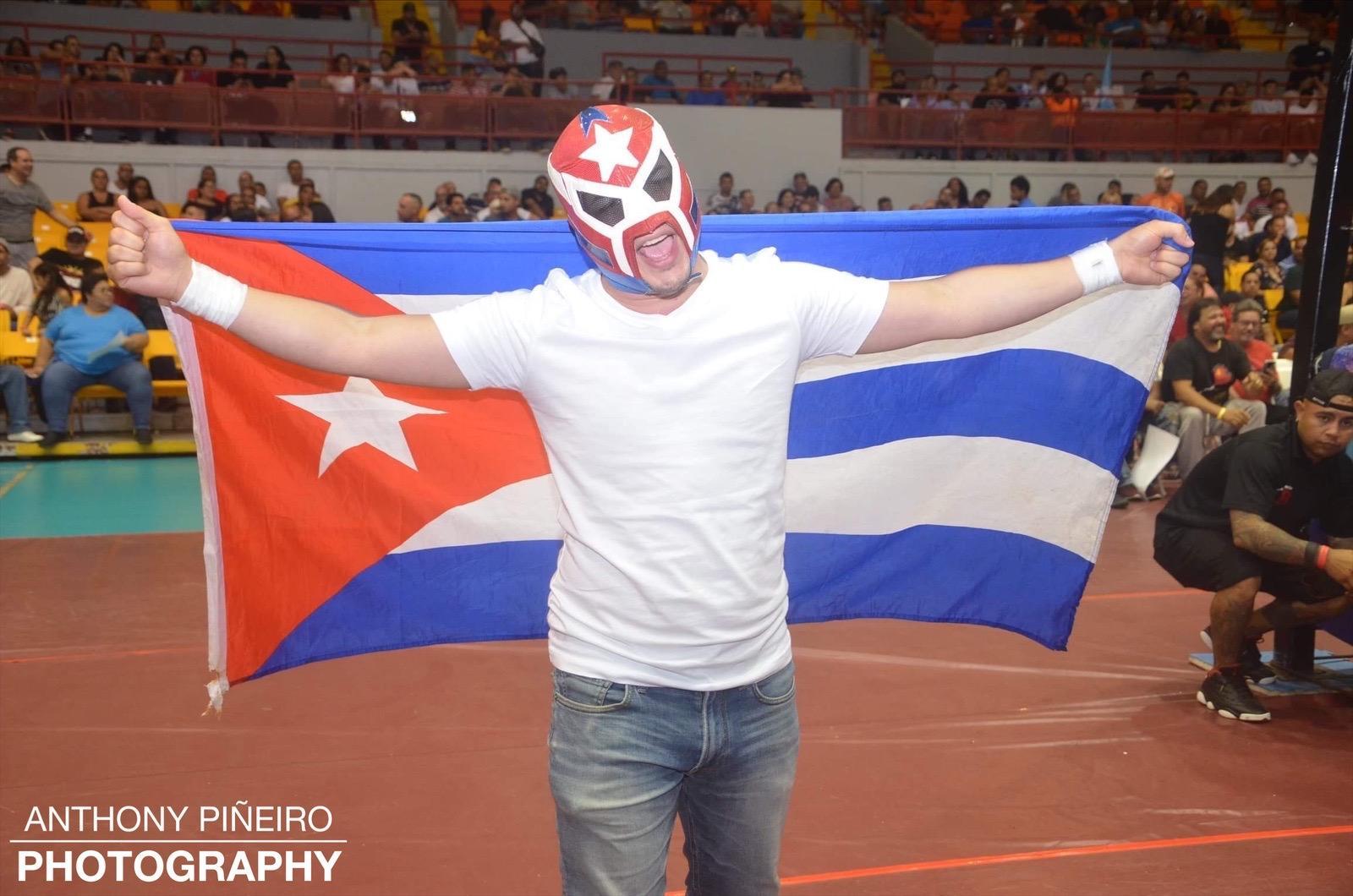 ¡El Cubano Rodrigo Garcia se despide de la Lucha Libre! 6
