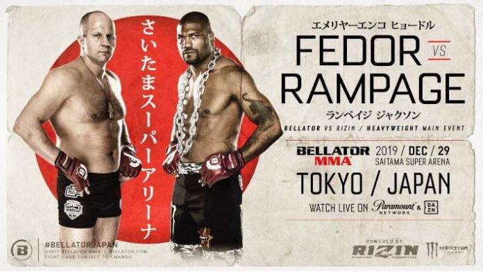 Fedor Emelianenko vs. Rampage Jackson programada para Bellator Japón 6