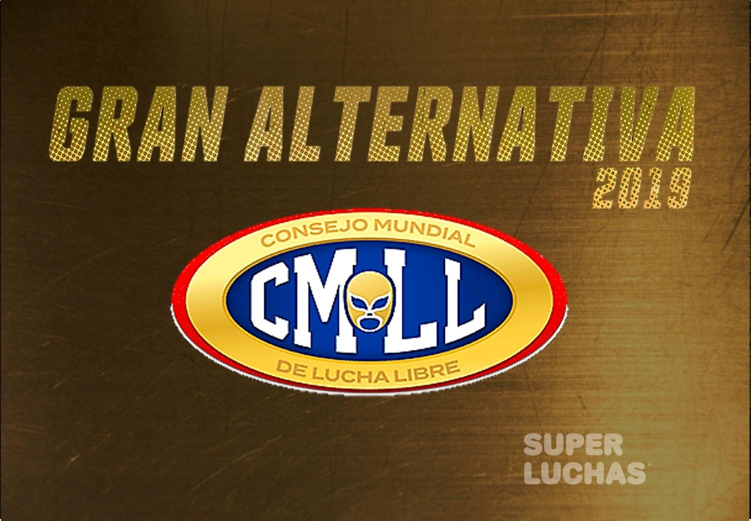 """CMLL: Participantes de la 1a Ronda de """"La Gran Alternativa 2019"""" 1"""