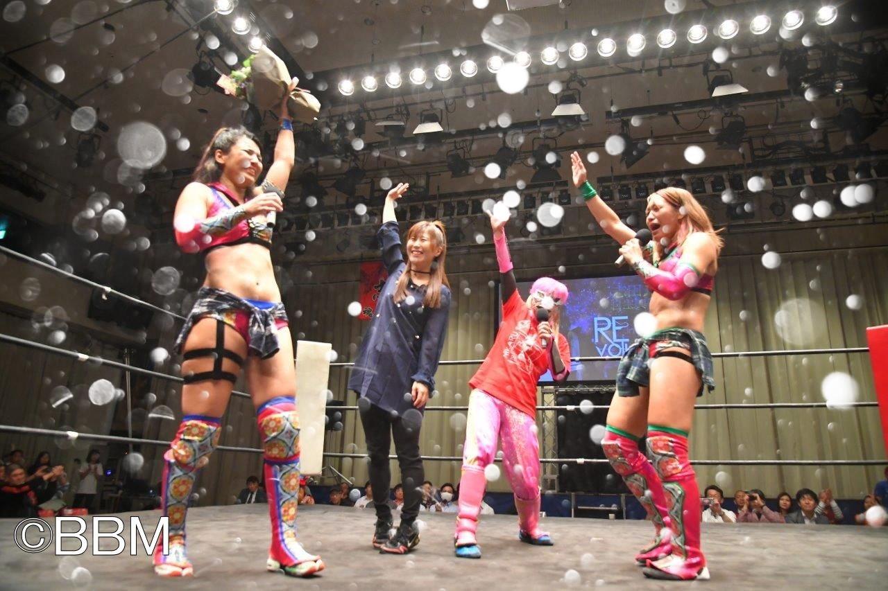 """Hikaru Shida se despidió de Japón con """"Revolution"""" 2"""