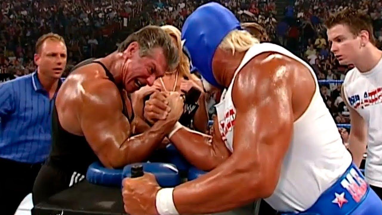 Hulk Hogan vs Vince McMahon