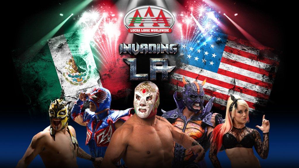 "AAA: Es oficial, se pospone ""Invading LA"" 1"