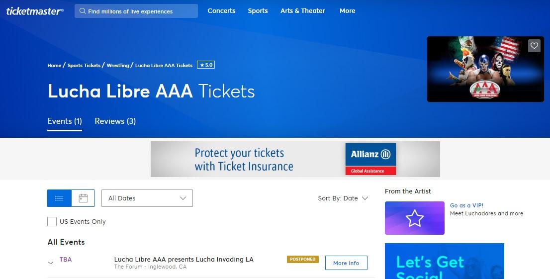 "AAA: Es oficial, se pospone ""Invading LA"" 3"