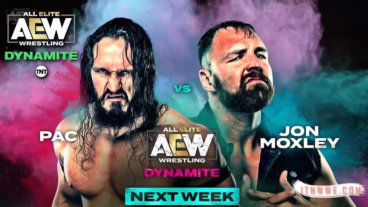 Jon Moxley vs PAC en AEW Dynamite (24 de octubre de 2019)