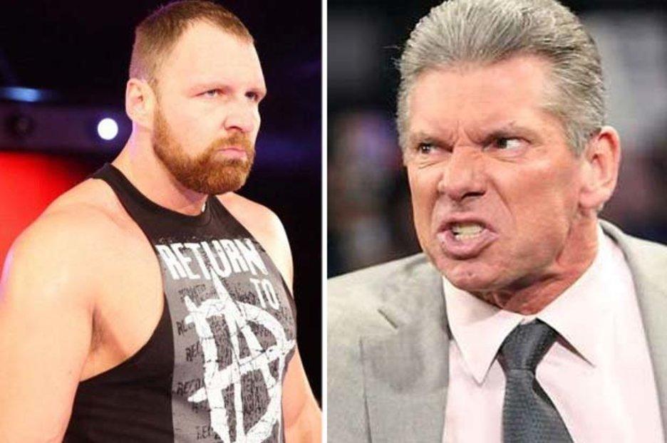 Jon Moxley vs Vince McMahon