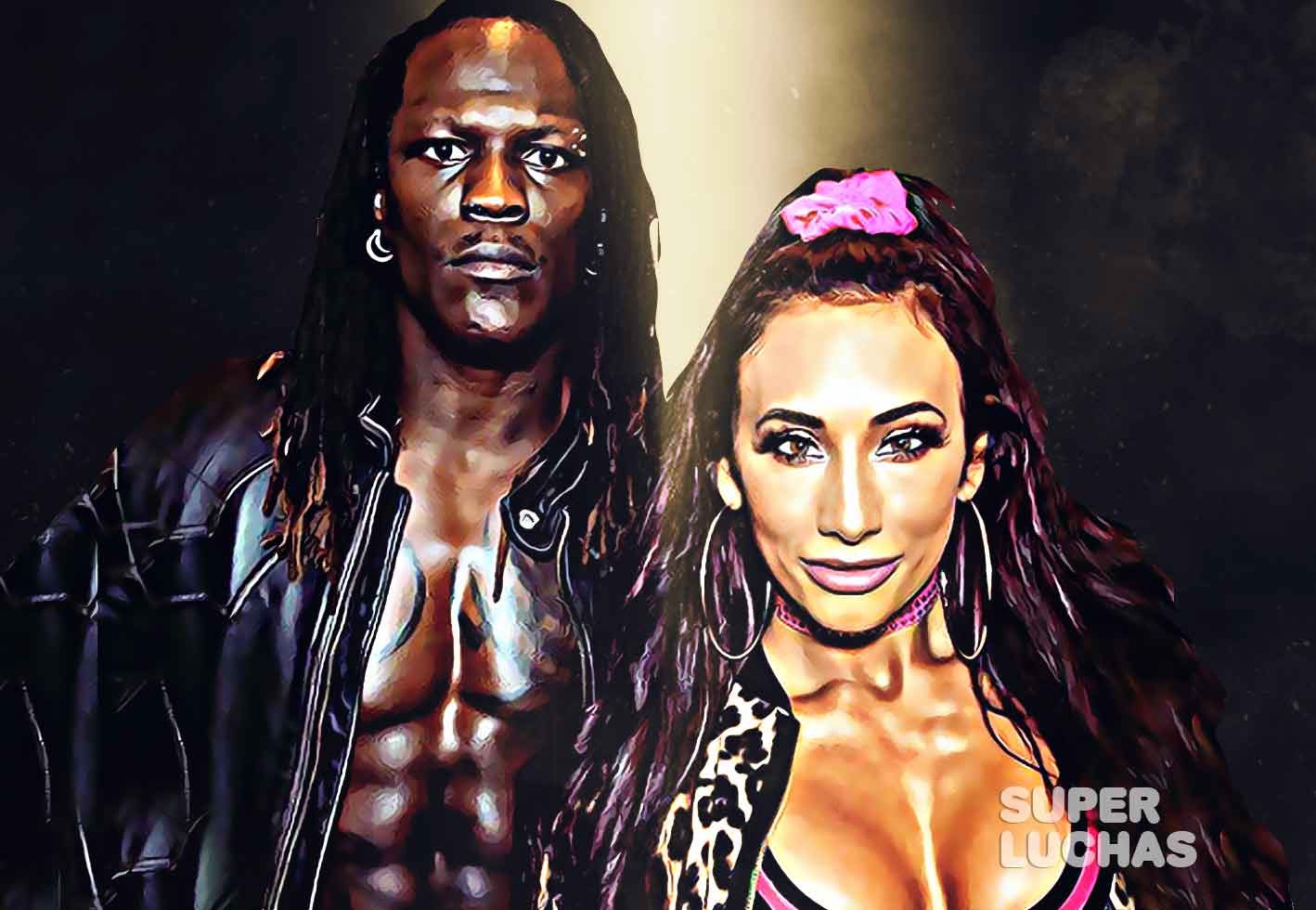 R-Truth y Carmella