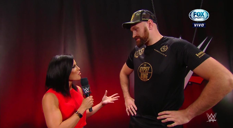 WWE Raw (7 de octubre 2019) | Resultados en vivo | Tyson Fury en WWE 13