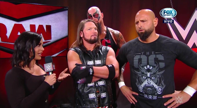 WWE Raw (21 de octubre 2019) | Resultados en vivo | Seth Rollins, el incendiario 1
