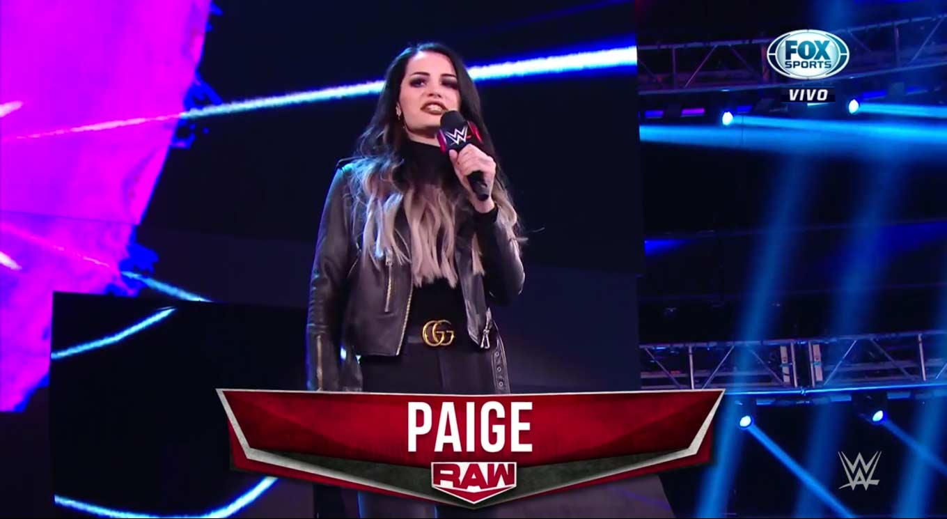 Si Paige pudiera volver a luchar