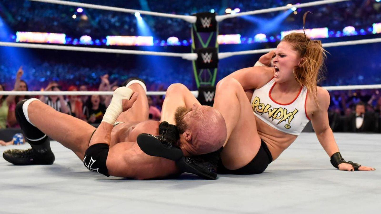 lesión de Ronda Rousey