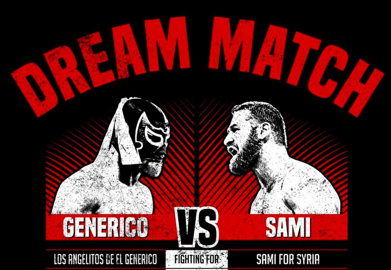 Sami Zayn vs El Genérico